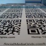 QR Code For Digital Business Card s .  The New face of printing press.